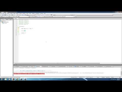 C Programming Tutorial – 34 – strcat and strcpy