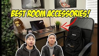 COOL ACCESSORIES FOR YOUR ROOM! $100 IKEA CHALLENGE!