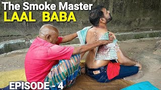 Laal baba street massage with stick pain Reif massage.
