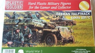 Plastic Soldier Company sdkfz 251/C 1/72 Scale Review