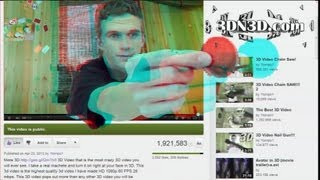 3D Youtube Player!!! (3D Video)