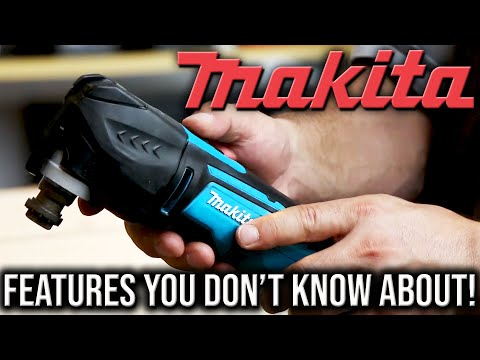 MAKITA 18V LXT Oscillating Multi-Tool Has FEATURES YOU DON'T KNOW ABOUT!