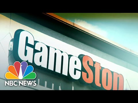 GameStop At The Center Of A Wall Street Tug-Of-War | NBC Nightly News