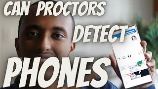 CAN PROCTORS DETECT CHEATING ON PHONES | CHEATING ON AN ONLINE PROCTORED EXAM