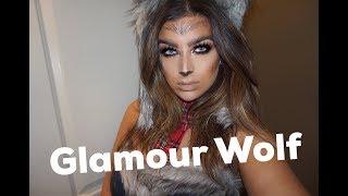 Were Wolf Glam || Halloween Makeup Tutorial