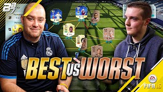 THE BEST TEAM EVER (197) VS THE WORST TEAM EVER! | FIFA 16