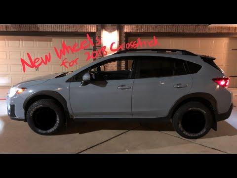 NEW WHEELS REVEALED! | 2018 Crosstrek