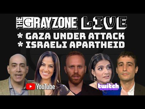 LIVE - Gaza under attack: Israeli apartheid with Ali Abunimah, Rania Khalek, Max Blumenthal