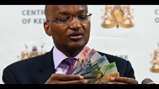 Kenyans holding more than Sh5m to contact CBK for new currency - VIDEO