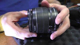 САМЫЙ БЫСТРЫЙ РЕМОНТ. Фотокамера Canon 550D Kit 18-55 IS. Не фокусируется / Не снимает