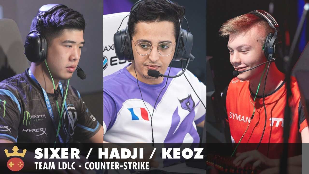 Video of Interview with SIXER, hAdji, and Keoz from Team LDLC at IEM Cologne 2021