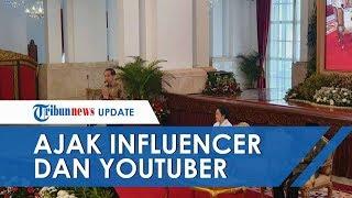 YouTubers, Selebtwit dan Influencer Diminta Jokowi untuk Membumikan Pancasila