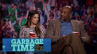 Alonzo Mourning Teaches Katie To Mean Mug