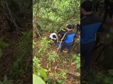 Full Clip tóm sống Hung thủ chém chết 5 người ở Định Hóa Thái Nguyên trong rừng