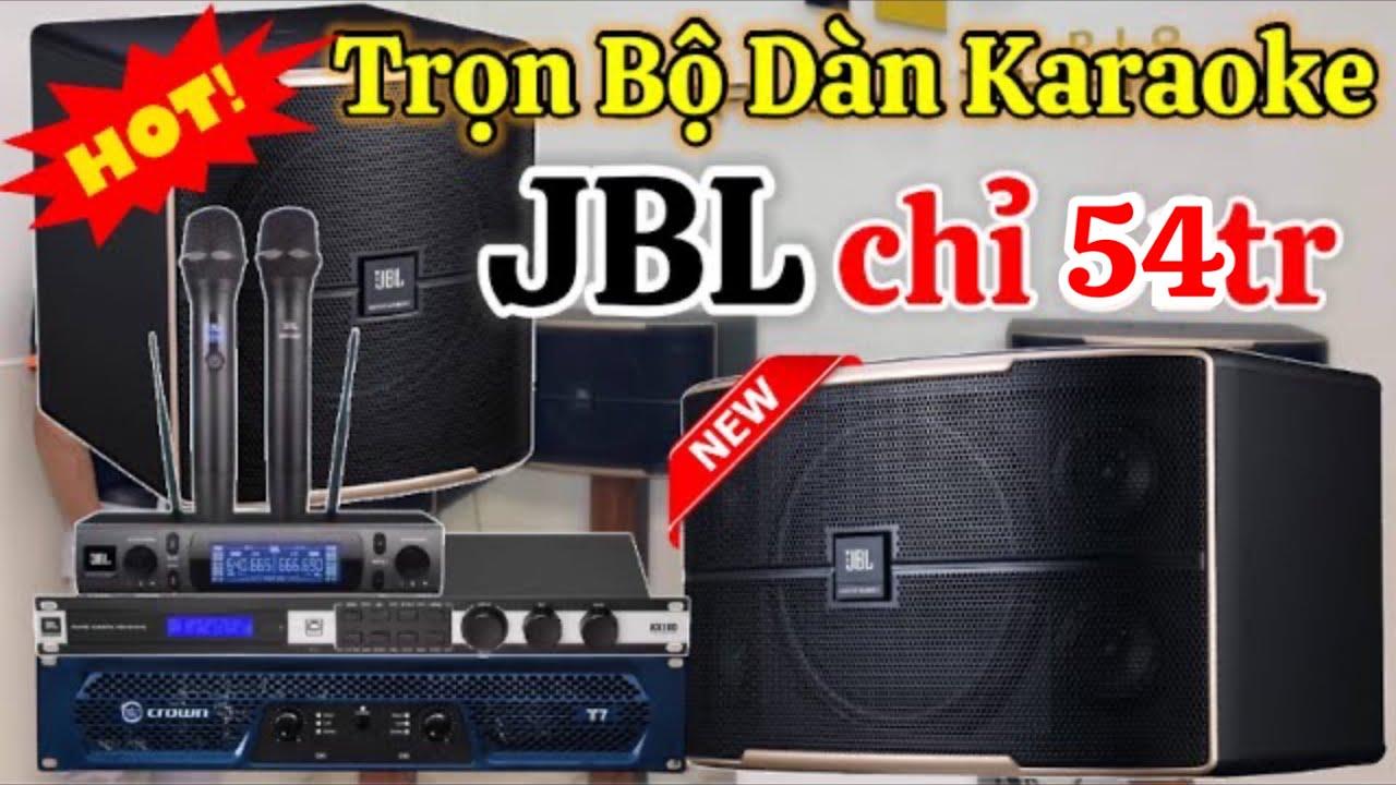 Video bộ dàn karaoke sử dụng loa sub JBL Pasion 12SP
