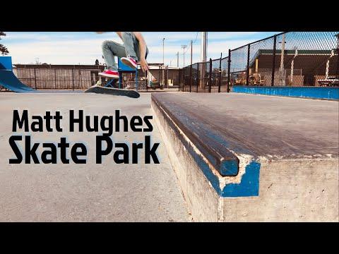 Skateboarding in Myrtle Beach, SC - Matt Hughes Skatepark