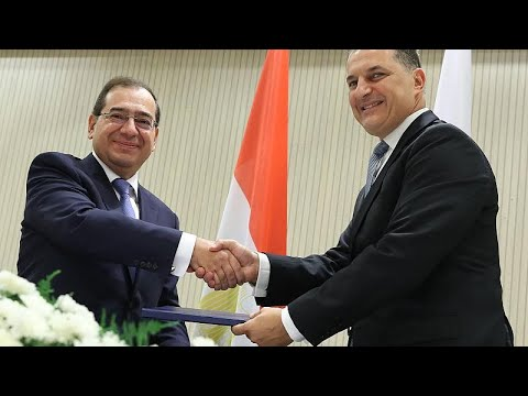 Υπεγράφη η συμφωνία για τον αγωγό φυσικού αερίου Αιγύπτου-Κύπρου…