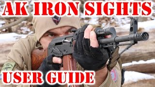 AK Iron Sights  User Guide To AK 47 AKM And AK 74 Iron Sights