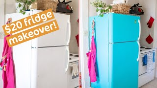 DIY: How I Put Contact Paper On My Fridge (MUST KNOW Tips!)