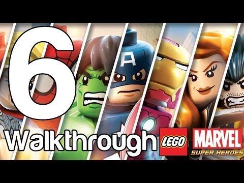 LEGO Marvel Super Heroes Walkthrough - LEGO: Marvel