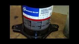 Arranque  Directo Motor Compresor Scroll .mpg