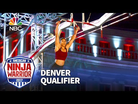 Meagan Martin at the Denver Qualifiers - American Ninja Warrior 2017