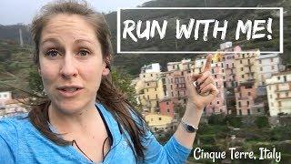 Run through Cinque Terre, Italy with me!
