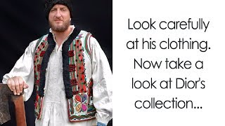 Romanian People Found Dior Copied Their Traditional Clothing And Decided To Fight Back In Genius Way