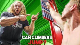 CLIMBERS HAVE WEAK LEGS, MYTH? (vertical jump test)