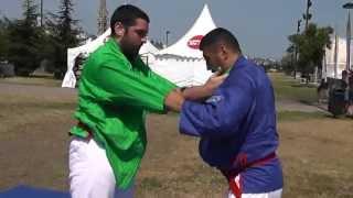 preview picture of video 'démonstrations de techniques de kourach, part 5, juillet 2013'