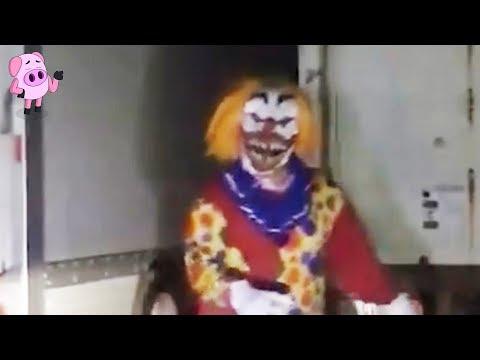 10 Creepy Clown Sightings Caught on Video
