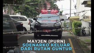 Mayjen (Purn) Soenarko Keluar Dari Rutan Guntur
