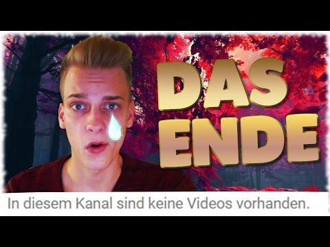 ✘Alle Videos GELÖSCHT✘ & ★Mein letztes Video★ SaschaLP