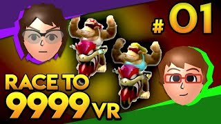 Mario Kart Wii - TROY TERRITORY?! - Race To 9999 VR   Ep. 1