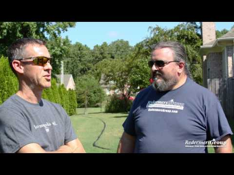 Clint Cooper talks about his motivation for leading Redeemers Group
