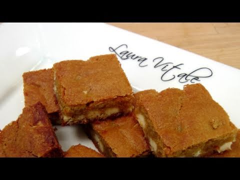 White Chocolate Chip Blondies – Recipe by Laura Vitale – Laura in the Kitchen Episode 148