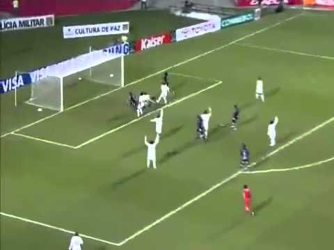 Santos 1 Once Caldas 1 Copa Santander Libertadores de America 2011