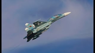 preview picture of video '█▬█ █ ▀█▀ Su-27UBM - Crash - Air Show Radom 2009'