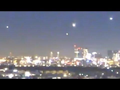 UFO's waargenomen boven Parijs, Frankrijk (28 november 2020)