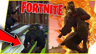 When You're Trash At Fortnite But Your Little Brother Is Clutch! - Fortnite Gameplay