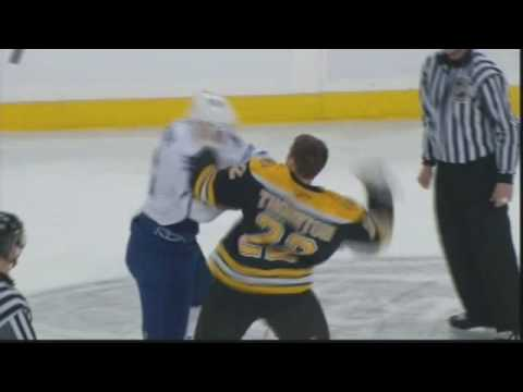 Shawn Thornton vs. Andre Deveaux