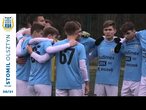 Skrót meczu U-17 Stomil Olsztyn - Jagiellonia Białystok 3:0