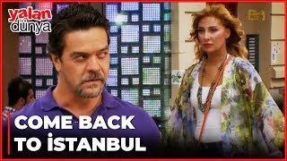 Rıza'nın Ailesi ve Deniz'in Ailesi İstanbul'a Döndü - Yalan Dünya 24. Bölüm