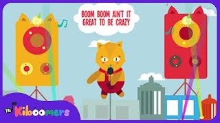 Boom Boom Ain't it Great to be Crazy | Children   - YouTube