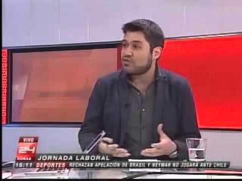 Isaías Sharon es entrevistado en Canal 24 Horas sobre las jornadas laborales más cortas
