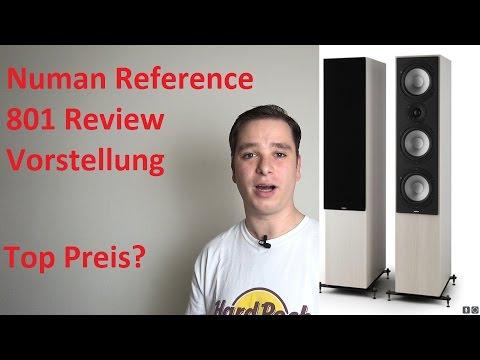 Numan Reference 801 günstiger Standlautsprecher. Test, Review und Vorstellung