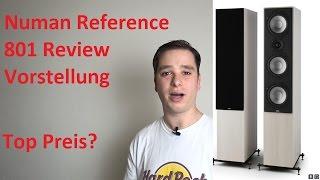 Günstiger Standlautsprecher Numan Reference 801| Test | Review und Vorstellung.