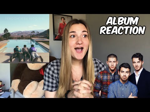 HAPPINESS BEGINS BY JONAS BROTHERS REACTION