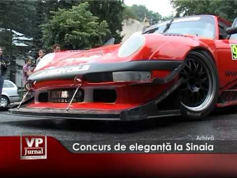 Concurs de eleganţă la Sinaia