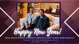 2021 New Year's Greeting from Senior Bishop Lawrence Reddick and Mrs. Wynde Jones Reddick